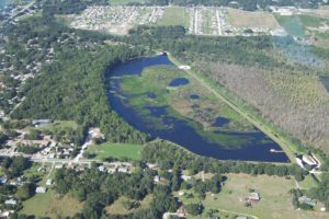 Lake Gwyn Wetland Project Completed Project